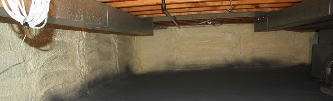 crawl space insulation in Montana